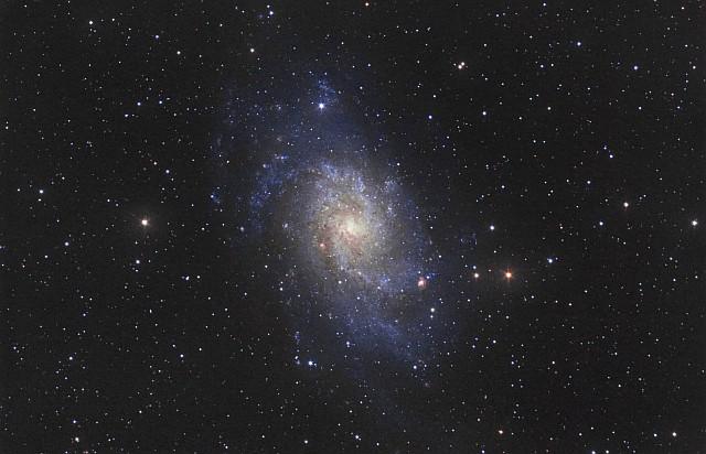 Spiral Galaxy M33