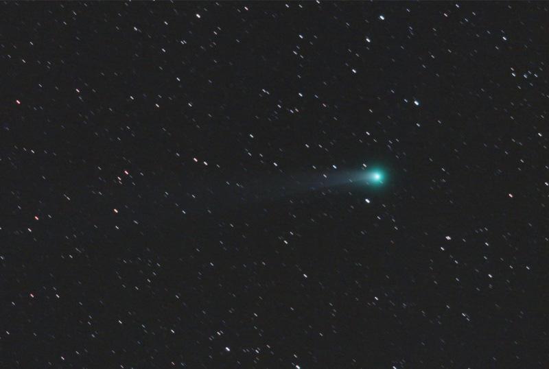 Comet Lovejoy - Star-Streaks Version.